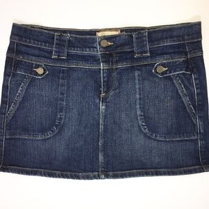 Paige Fountain Ave Denim Skirt